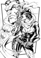 CONTRACT submission 2 inks by CdubbArt