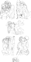 Sketches everywhere by Atey