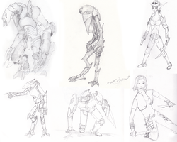 Sketchbook Characters 6 by Riot-Inducer