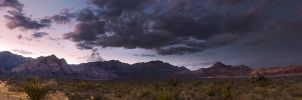 Red Rock Canyon Panorama by sciph