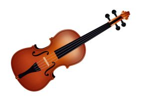 Realistic-vector-violin by superawesomevectors
