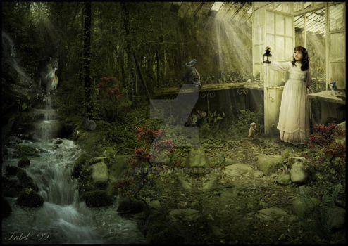 The Secret Garden by Iribel