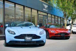 DB11 Duo by SeanTheCarSpotter
