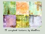 Icon textures pack 10 - scrapbook by Woolfres