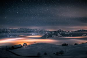 House above the clouds by dmkdmkdmk