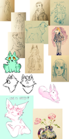 sketchdump3 by cayotze