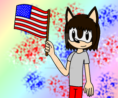 ~ I love this America (But late, sorry) XD ~ by SonicUS1000