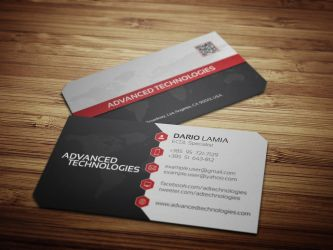 Modul 003: Advanced Technologies (Business Card) by LamiaDC