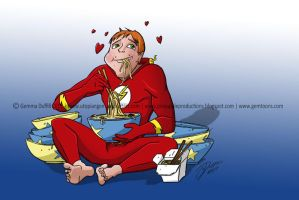 Commish: Wally West by GemmaDuffill