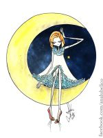 I want the moon by analubelico
