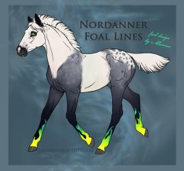 A6087 Foal Design by shekeira