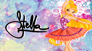 Stella Ballet Fairy Wallpaper by Wizplace