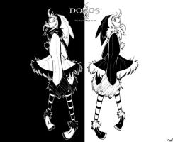 DOGS luki and noki by LOVEfromISA
