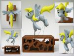 Derpy Hooves by renegadecow