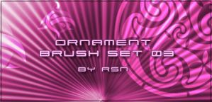 Ornament Brush Set 03 by rosinaxd