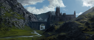Castle in the Highlands by Solfour