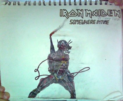 E.#6+I.M.:Somewhere inTime logo drawing(Unflipped) by TannMann64