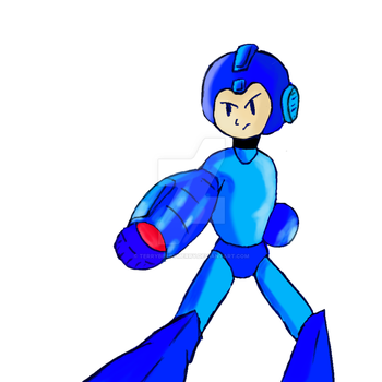 Megaman by TerryBerryMerry