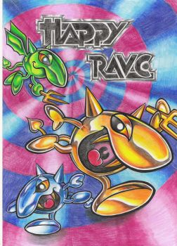 Happy Rave by Madweazle