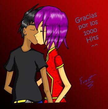 1000 Hits - El beso by Frostwings