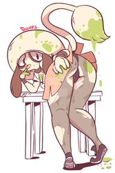 School Smeargle by Diives