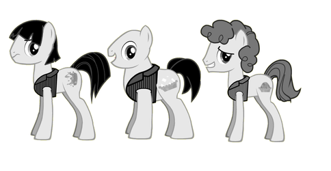 the three stooges ponified by kuren247