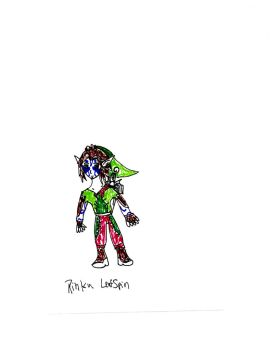 A Blue Encounter concept art Rinku Leafspin by skysoul25