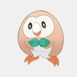 Rowlet by ColeSuave