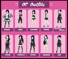 [HSV] Outfit Meme Blue Edition by Simanada