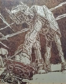 AT-AT Coming Through  by 9FIVE7