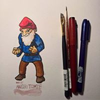 Angry Tomte by Callego