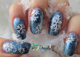Winter ~ Snowflakes by Danijella