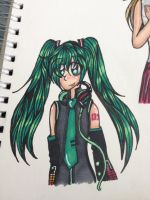 Miku! by NarratorWildwood