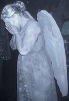 Weeping Angel Cosplay by xPrincessEmilyx