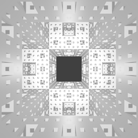 Inside the Menger Sponge by Dixbit
