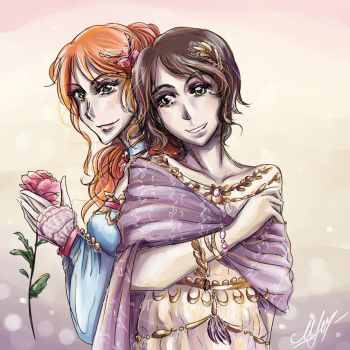Sisters time by Rinoa-Light-Leonhart