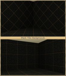 Black Tiles Backgrounds by allison731