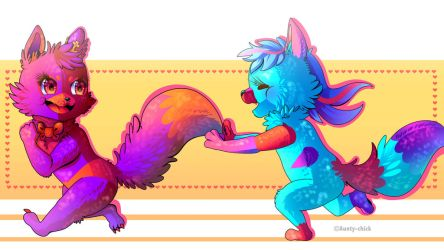 C h a s e! ::Commission:: by Aunty-chick