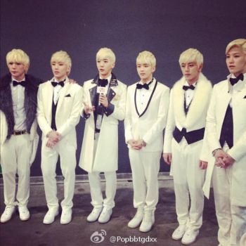 B.A.P PD Choice Award MAMA (press conference) by hitsukarinluvr