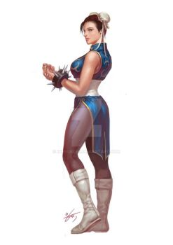 Street Fighter. Chun-Li by inhyuklee