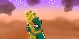 PMD Sky - I Don't Want To Say Goodbye ... by Minish-Mae