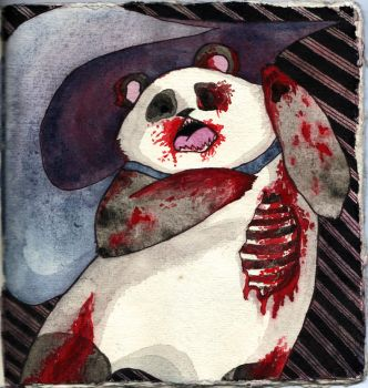 EPIC ZOMBIE PANDA by The-Bails