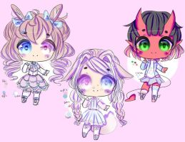 Points Adoptables .2.  Open (1/3 ) by Mizore-Adopts