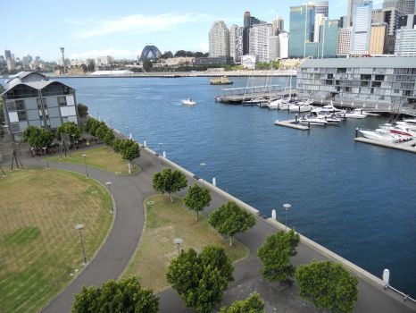 Pyrmont by telephone-line