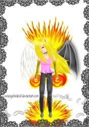 On Fire!! by viviangelordevil