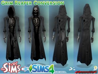 Sims1 to Sims4 Grim Reaper Conversion by Gauntlet101010