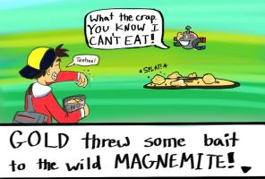 Magnemite used Eat