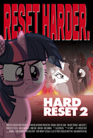 Commission - Hard Reset 2: Reset Harder Cover by Alexstrazse