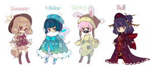 [OPEN 2/4] Seasonal adopts [SET PRICE] by mameshii