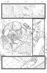 DiveBomb page 1 for Pilot Studios pencils by Me by joriley